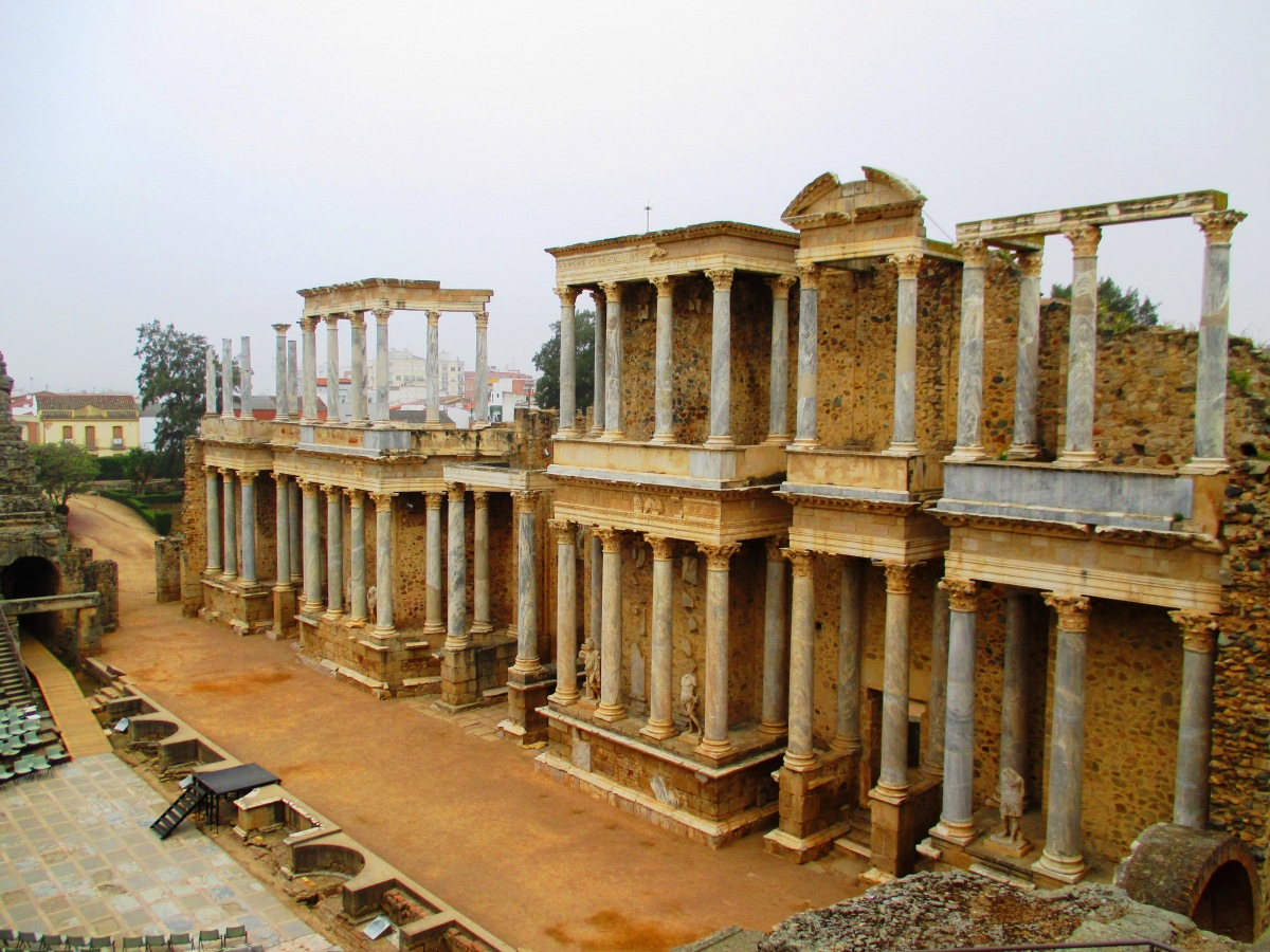 The Ruins of Merida