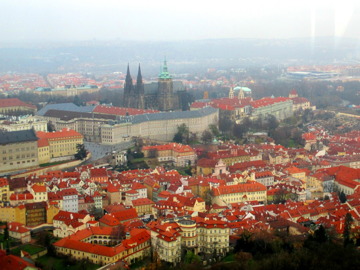 Prague from the Petrin Hill